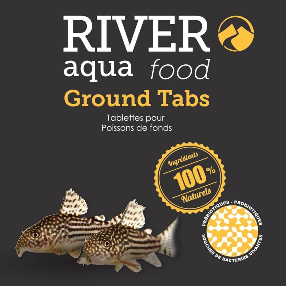 Aliment en tablettes spécialement conçu pour les poissons de fond (corydoras, botia, etc...).