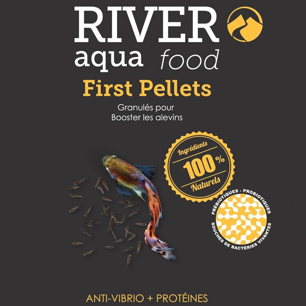 Nourriture pour alevin d'une efficacité redoutable, permet d'obtenir une croissance saine et un minimum de pertes sur les bébés poissons