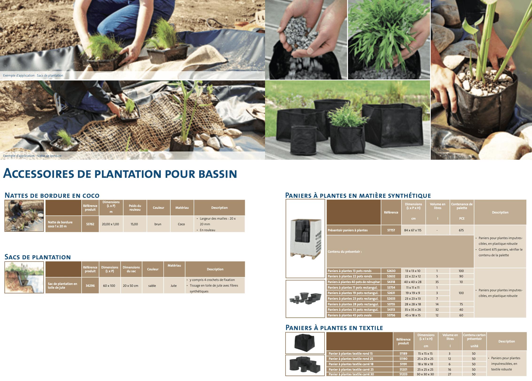 Oase Paniers /à Plantes